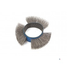 AOK fine wire brush for. pneumatic burnishing machine - brushing machine - multi-grinder