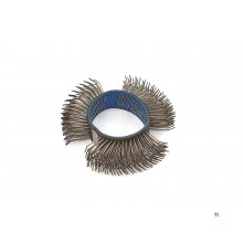AOK coarse wire brush for. pneumatic burnishing machine - brushing machine - multi-grinder