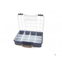 Raaco CarryLite 80 4X8-12 Organizer incl. 12 insert bins - 144551