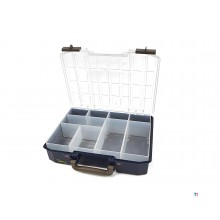 raaco carrylite 80 4x8-9 organizer incl. 9 insert boxes - 143608
