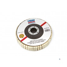 HBM lamella polishing discs for end polishing for the angle grinder