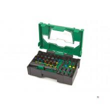 Hikoki 23 pezzi resistenti agli urti Bitset in mini systainer 40030021
