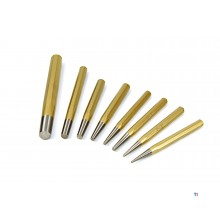 Punzoni da drift Athlet 162 realizzati in acciaio al cromo-molibdeno-vanadio di alta qualità