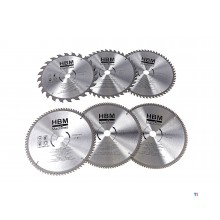 HBM HM circular saw blades 300 mm for wood