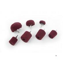 cônes de ponçage hbm rouge k320