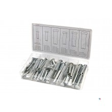 HBM 60 Piece Locking Pins lajitelma