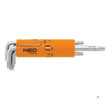 ensemble neo torx, t10-t50 s2 acier