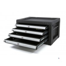 HBM 4 drawers tool cupboard - black