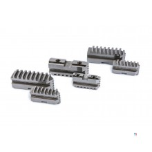 HBM soil jaws for HBM chucks with top jaws