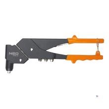 pinza per rivetti neo 2,4-5,0 mm 360 ruotabile