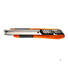 coltello multiuso neo 18mm metallo-gomma pro