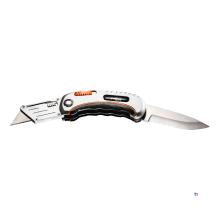 NEO brettkniv med lommekniv for metallboks