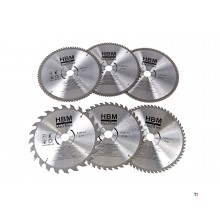 HBM hm circular saw blades 250mm for wood